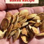 Do you want a baked pumpkin seed recipe? We have made these for years and want to share our healthy pumpkin seeds baked recipe with you.