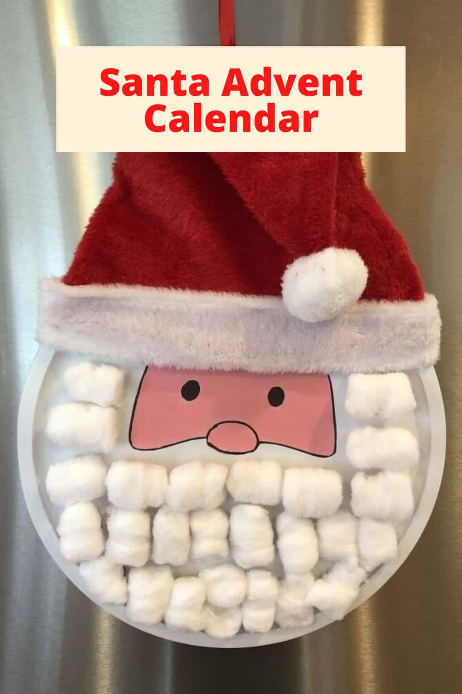 Diy Kids Advent Calendar Chas Crazy Creations