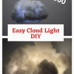 Have you seen those $1300 and up cloud lights? Ouch! Today I'm sharing a beautiful and easy cloud light DIY for under $10!
