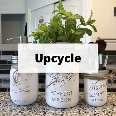 When it comes to repurposing and upcycling – the possibilities are really endless and there is always a way to create something amazing.