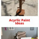 Do you want some acrylic paint ideas? I found this mug rack at a thrift store and with a little paint, I updated it and turned it into an office organizer for my home.