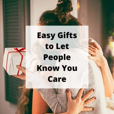 Making a gift for someone makes it extra special. Try some of these ideas for some thoughtful gifts that really show that you care.