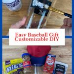 Do you want an easy baseball gift? Personalize this project, and it is easily adjustable, eco-friendly, and great for so many occasions.