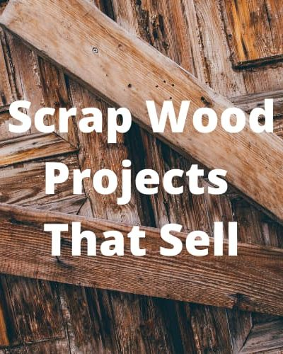 Did you know you can make scrap wood projects that sell? I created a snowman project, and with a little imagination created rotating seasonal decor and sold it.
