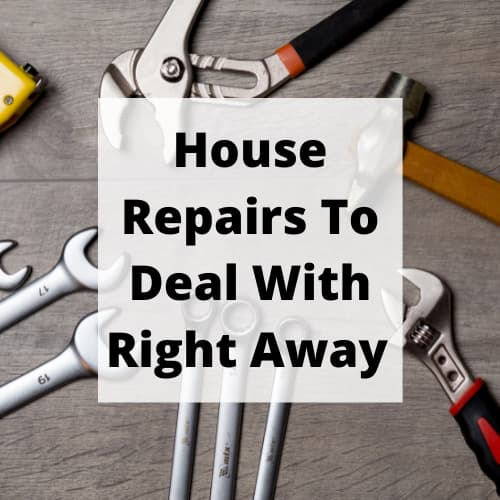 What are the most common home repairs? There are 4 key things you should look for that need to be fixed right away.