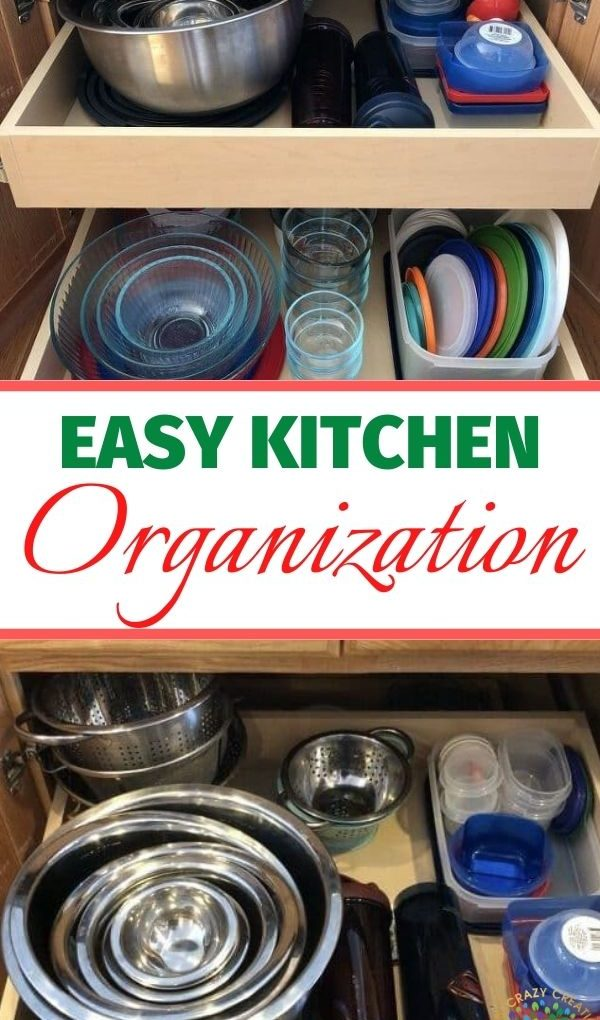 I love an organized space, and kitchen storage can be a challenge. I wanted to share tips for kitchen container storage and organization, and my journey along the way.