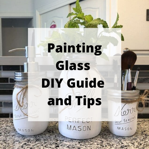 Do you want to know the ins and outs of painting glass? I have done several projects over the years and I'm going to share things you will want to know to be successful.