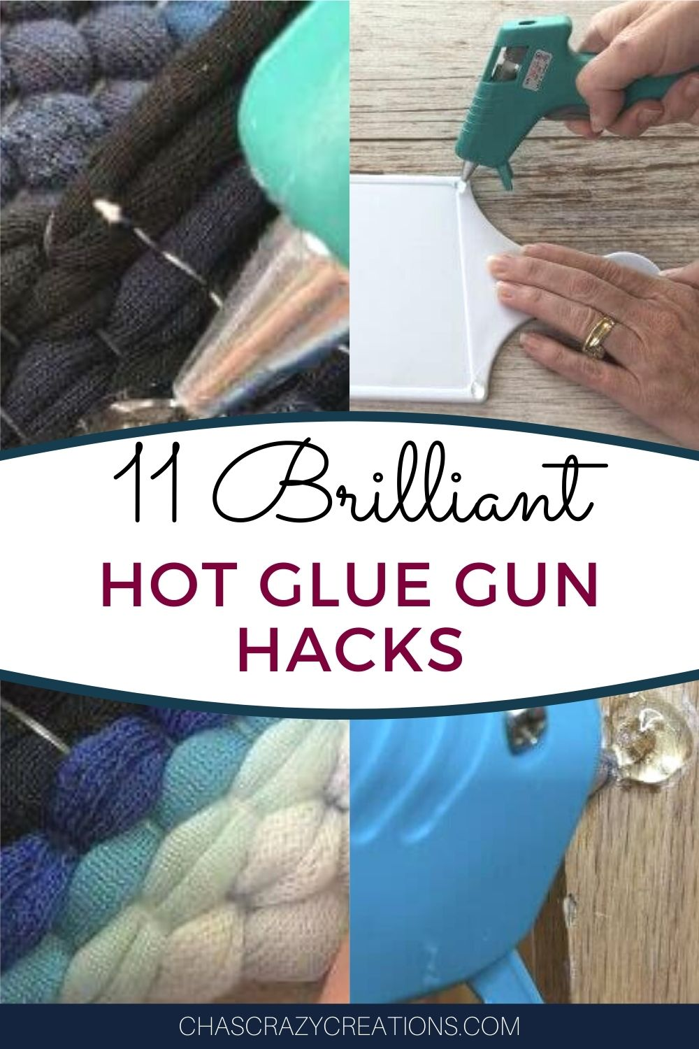 I love my hot glue gun and it's great for so much more than crafting. Here are a few ways I've use hot glue gun hacks to help in my home.