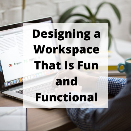 Designing a workspace doesn't have to be boring. You can create a space that is fun and functional with just a few simples tips.
