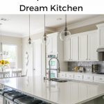 Keeping your dream kitchen organized and clean doesn't have to be hard. Here are some easy peasy steps to take.