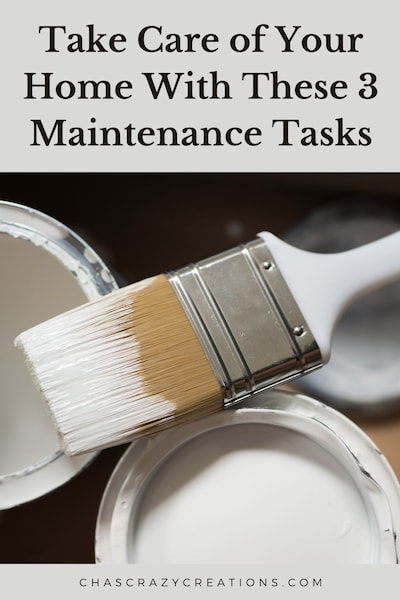 We all have general home repair and maintenance tasks, and today I'm going to share 3 things to do that your home needs.