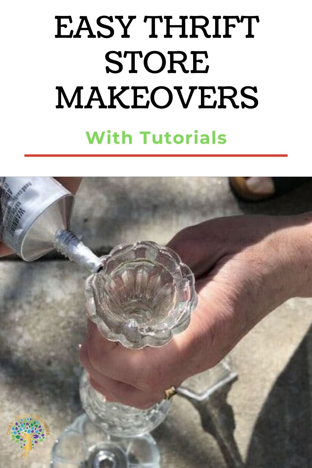 With just a little creativity you can take items from your home or a thrift store, give them a makeover, and turn them into something beautiful. Here are some easy thrift store makeovers.