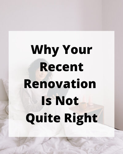 Have you changed something in your home and decided it's not quite right? Here are 8 small things that can change your renovation regrets.
