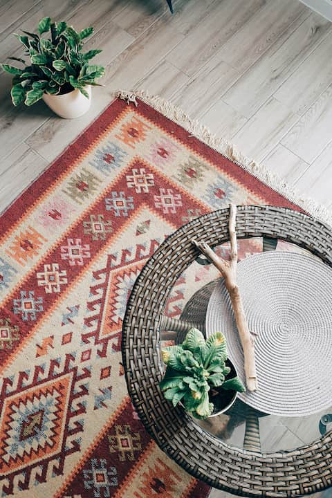 If you don't have a great deal of experience in room renovations, you can get your rug selection quite badly wrong. Many people are in the habit of choosing small, puny rugs. But these have the effect of making rooms feel fragmented, disjointed, and claustrophobic.