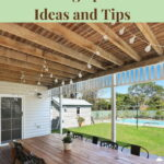 Do you want to know how to make a nice outdoor space? I have 10 backyard living ideas and tips to share with you!