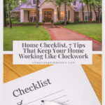 Do you want a home checklist? I have 7 tips for things you need to check on a regular basis to keep your home working like clockwork.